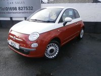 USED 2011 11 FIAT 500 1.2 POP 3dr