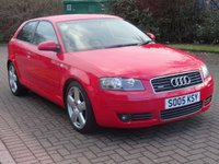 USED 2005 05 AUDI A3 2.0 T FSI QUATTRO S LINE 3d 197 BHP BOSE SOUND SYSTEM++ HALF LEATHER +FULL SERVICE RECORDS (8 STAMPS)++  MOT AUGUST 2018 ++