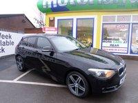 USED 2013 63 BMW 1 SERIES 2.0 118D SPORT 5d 141 BHP