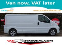 2014 VAUXHALL VIVARO 2.0 2900 CDTI SPORTIVE LWB 1d 115 BHP (ONE OWNER LOW MILES AIR CON) £8790.00