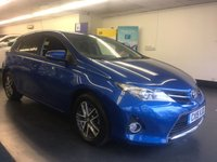 2015 TOYOTA AURIS 1.6 VALVEMATIC ICON PLUS 5d 130 BHP £SOLD