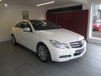 USED 2013 62 MERCEDES-BENZ E 220 2.1 DIESEL SE COUPE AUTO