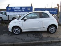 USED 2009 09 FIAT 500 1.2 LOUNGE 3d 69 BHP 4 Stamps Of Service History .£30 Yearly Road Tax . New MOT & Full Service Done on purchase + 2 Years FREE Mot & Service Included After . 3 Months Russell Ham Quality Warranty . All Car's Are HPI Clear . Finance Arranged - Credit Card's Accepted . for more cars www.russellham.co.uk  - Spare key and book pack .