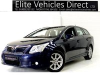 2010 TOYOTA AVENSIS 1.8 TR VALVEMATIC 5d  £5991.00