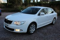 2013 SKODA SUPERB 1.6 SE GREENLINE II TDI CR 5d 105 BHP £5490.00