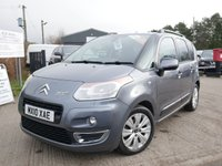 USED 2010 10 CITROEN C3 PICASSO 1.6 PICASSO EXCLUSIVE HDI 5d 90 BHP 6 MONTHS RAC MECHANICAL AND ELECTRICAL WARRANTY WITH 12 MONTHS COMPLIMENTARY RAC BREAKDOWN COVER