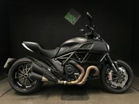 USED 2016 16 DUCATI DIAVEL STEALTH DARK. 2016. 1 OWNER. 3K MILES. ALARM. 2 SERVICES