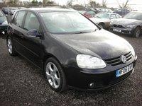 2006 VOLKSWAGEN GOLF 2.0 GT TDI 5d 138 BHP £3000.00