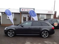 USED 2013 13 AUDI A4 2.0 AVANT TDI S LINE BLACK EDITION 5DR ESTATE DIESEL 141 BHP ++++SUMMER SALE NOW ON+++