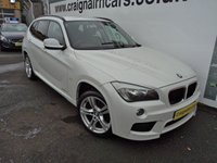 USED 2011 11 BMW X1 2.0 XDRIVE18D M SPORT 5d 141 BHP Full Leather And Heated Seats+Full BMW History
