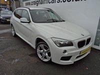 2011 BMW X1 2.0 XDRIVE18D M SPORT 5d 141 BHP £10995.00