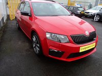 USED 2014 64 SKODA OCTAVIA 2.0 VRS TDI CR 5d 181 BHP Alloys+DAB Media+Bluetooth+19000 Miles Full Dealer History