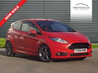 USED 2016 66 FORD FIESTA 1.6 ST-3 3d 180 BHP EXCELLENT CONDITION, SAT NAV