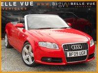 2009 AUDI A4 1.8 T S LINE 2d 161 BHP £6495.00