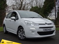 USED 2013 63 CITROEN C3 1.2 VTR PLUS 5d  **ECONOMICAL**LOW RUNNING COSTS**
