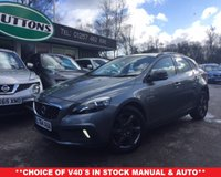 2015 VOLVO V40 1.6 D2 CROSS COUNTRY  5d 113 BHP £11489.00