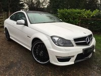 USED 2011 61 MERCEDES-BENZ C-CLASS 6.2 C63 AMG EDITION 125 2d AUTO 457 BHP