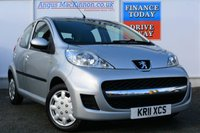 USED 2011 11 PEUGEOT 107 1.0 URBAN 5d 68 BHP TWO FORMER KEEPERS