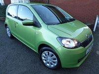2012 SKODA CITIGO 1.0 SE 12V 5d AUTO 59 BHP Air Conditioned Model £5000.00