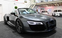 USED 2013 63 AUDI R8 5.2 SPYDER V10 QUATTRO 2d AUTO 518 BHP *CARBON PACK-EXTENDED LEATHER*