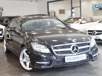 2014 MERCEDES-BENZ CLS CLASS 3.0 CLS350 CDI BLUEEFFICIENCY AMG SPORT 4d AUTO 265 BHP £18490.00