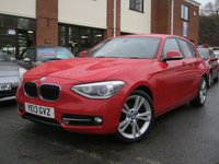 USED 2013 13 BMW 1 SERIES 2.0 118D SPORT 5D,FULL BLACK HEATED LEATHER,MUST SEE!!!