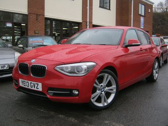 2013 BMW 1 SERIES 2.0 118D SPORT 5D,FULL BLACK HEATED LEATHER,MUST SEE!!! £8995.00