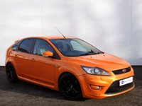 USED 2008 08 FORD FOCUS 2.5 ST-3 5d 223 BHP STUNNING ELECTRIC ORANGE ST-3 with FULL COBRA BODY KIT