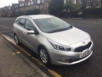 USED 2013 13 KIA CEED 1.6 CRDI 2 ECODYNAMICS 5d 126 BHP THIS CAR HAS KIA WARRANTY , 1 YEARS MOT AND A OIL & FILTERS SERVICE. THIS CAR HAS 4 SERVICE STAMPS IN THE  BOOKS. CARS WITH MANUFACTURES WARRANTY DOES NOT COME WITH BREAKDOWN COVER.