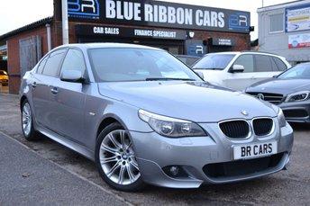2006 BMW 5 SERIES 2.0 520D M SPORT 4d 161 BHP £4490.00