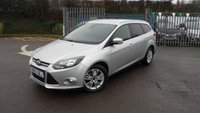 USED 2014 63 FORD FOCUS 1.6 TITANIUM NAVIGATOR TDCI 5d 113 BHP Satellite Navigation