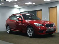 USED 2011 11 BMW X1 2.0 XDRIVE20D M SPORT 5d AUTO 174 BHP++++SPECIAL ORDER COLOUR+++++GREAT SPECIFICATION++++FOUR WHEEL DRIVE+++++