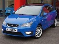 2012 SEAT IBIZA 1.2 TSI FR 3d 105 BHP £5983.00