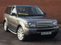 2008 LAND ROVER RANGE ROVER SPORT 3.6 TDV8 SPORT HSE 5d AUTO 269 BHP £13995.00
