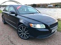 USED 2009 59 VOLVO S40 1.6 D DRIVE S 4d 109 BHP **UPGRADED ALLOYS & GREAT ON FUEL**