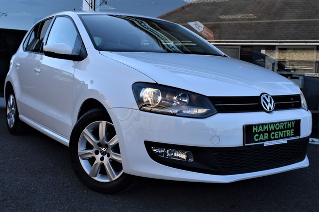 2014 63 VOLKSWAGEN POLO 1.2 MATCH EDITION 5d 59 BHP