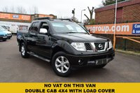 USED 2007 NISSAN NAVARA 2.5 AVENTURA DCI 4X4 SWB SHR D/C 1d 169 BHP A very high specification Nissan Navara 2.5 dci 4x4 double cab pick up in black with a grey full leather interior, rear load liner and cover, side steps, roof bars, sat nav, heated seats, electric sunroof, bluetooth, climate control, alloy wheels and much more........great value at just £6999 WITH NO VAT TO ADD.