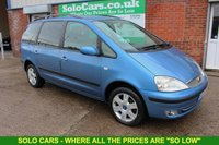 USED 2004 54 FORD GALAXY 1.9 GHIA TDDI 5d 130 BHP +7 SEATER +Full MOT +Serviced.