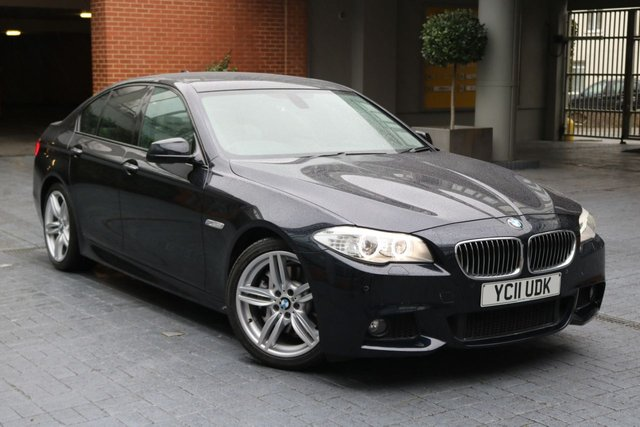 2011 11 BMW 5 SERIES 3.0 530D M SPORT 4d AUTO 242 BHP