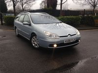 USED 2006 06 CITROEN C5 2.2 EXCLUSIVE HDI 5d AUTO 132 BHP