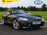 USED 2016 66 BMW Z4 3.0 Z4 SDRIVE35IS ROADSTER 2d 340 BHP An exemplary 2016 BMW Z4 35iS  automatic coupe cabriolet finished in grey metallic with a gorgeous tan full leather sports interior. Still under manufacturers warranty until September 2019, 2 keys and just 7000 miles.