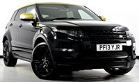 USED 2013 13 LAND ROVER RANGE ROVER EVOQUE 2.2 SD4 Special Edition AWD 5dr Pan Roof, Black Pk, Sat Nav ++