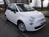 USED 2013 13 FIAT 500 1.2 POP 3d 69 BHP *** FINANCE & PART EXCHANGE WELCOME ***  £ 30 ROAD TAX STOP/START CITY STEERING MODE
