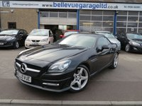 USED 2013 MERCEDES-BENZ SLK 2.1 SLK250 CDI BLUEEFFICIENCY AMG SPORT 2d AUTO 204 BHP