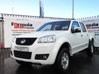 USED 2015 15 GREAT WALL STEED 2.0 TD S Pickup 4X4 4dr FULL LEATHER+ALLOYS+NO VAT!!!!