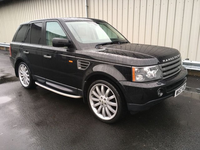 2008 57 LAND ROVER RANGE ROVER SPORT 2.7 TDV6 SE AUTO WITH OVERFINCH ALLOYS