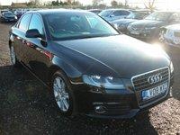 2008 AUDI A4 2.0 TDI SE 4d 141 BHP £SOLD