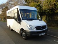 USED 2008 57 MERCEDES-BENZ SPRINTER 2.1 511CDI MWB 15 SEATER COACH BUILT DISABLED PASSENGER MINI BUS +WHEELCHAIR ACCESS+COACH BUILT