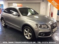 USED 2010 AUDI Q5 2.0 TDI QUATTRO S LINE 5d AUTO 170 BHP UK DELIVERY* RAC APPROVED* FINANCE ARRANGED* PART EX