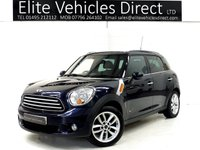 2013 MINI COUNTRYMAN 1.6 COOPER D ALL4 5d **CHILI PACK** £8241.00
